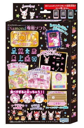 ジュエルポッド ダイアモンド専用SDカード ゴールド ルビーをプロデュース