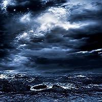 Nightテーマビデオスタジオ背景コンピュータ印刷写真背景写真バックドロップCP _ g-087