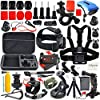 Erligpowht Common Outdoor Sports Kits for GoPro Hero 4/3+/3/2/1 Cameras and Sj4000/Sj5000 Cameras In Swimming Camping Diving Outing Any Other Outdoor Sports [並行輸入品]