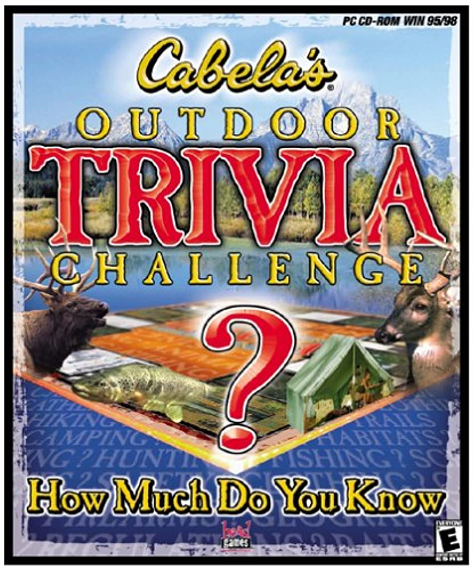 担当者被害者アンカーCabela's Outdoor Trivia (輸入版)