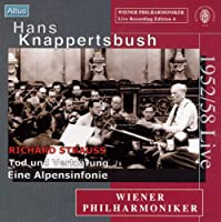 リヒャルト・ シュトラウス:アルプス交響曲、交響詩「死と変容」