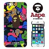 【 A BATHING APE 】 iPhone6(4.7inch)対応ケース ベイシングエイプ APE004