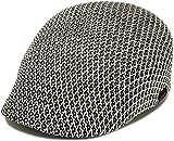 ハッピーハット 帽子 XL 大きいサイズ オールメッシュハンチング ライト&クール hun-427-10-xl ホワイトMIX