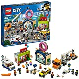 レゴ(LEGO) シティ 巨大クレーン車が活躍! ドーナツショップの開店 60233 ブロック おもちゃ 男の子