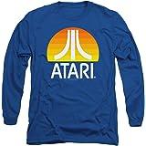 Popfunk Atari Video Game Retro Logo Vintage Gaming Console Longsleeve T Shirt & Stickers