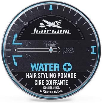 hairgum Water+ Pomade 40g【水性ポマード・ウェット・シトラス】