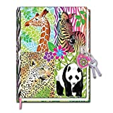 Hot Focus Magic Safari Diary with Lock in a Sealed PVC Package [並行輸入品]