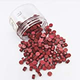 Wax Seal Beads, Moorlando 200Pcs Wax Sealing Beads for Wax Stamp Sealing, Perfect for Cards, Envelopes, Invitations, Wine Pac