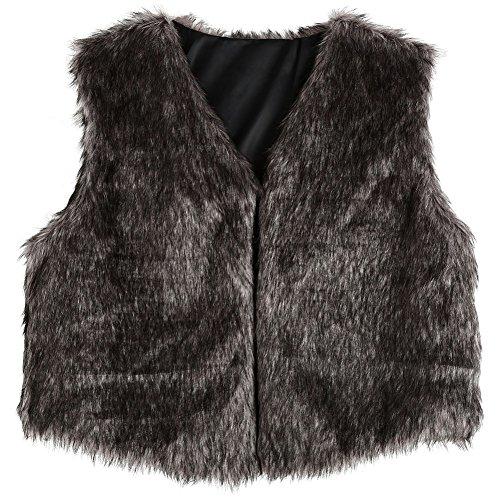 [해외]MIOIM 모피 조끼 조끼 가짜 모피 코트 화려하게 매료 따뜻한 여성 봄 가을 겨울 방한 자켓 트렌드 모피 민소매/MIOIM fur vest waistcoat fake fur coat glamorously fascinating warm women`s spring autumn winter cold outer trend fur sleeveles...