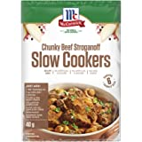 McCormick Slow Cookers Chunky Beef Stroganoff Recipe Base 40 g, 40 g