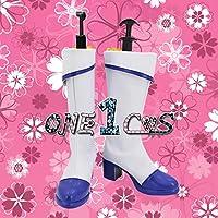 【サイズ選択可】コスプレ靴 ブーツ 12L1606 ラブライブ! サンシャイン!! 青空Jumping Heart R 覚醒後 黒澤ルビィ 女性25CM