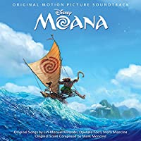 Moana: Original Motion Picture Soundtrack (CD+2 collectible coloring cards)