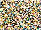 1000ピース ツムツム ジグソーパズル (69cm×50cm) TSUM TSUM Disney
