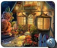 マウスパッド、家庭芸術の花卉庭神話モードカスタマイズゴムのマウスパッドゲームマウスパッド