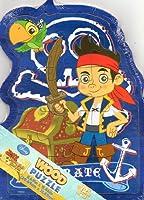 JAKE and the Never Land Pirates(ジェイクとネバーランドのかいぞくたち)12ピース Wooden Puzzle(ウッドパズル)【並行輸入品】
