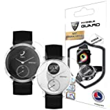 Withings Steel HR 36-40mm Screen Protector (2 Units) Invisible Ultra HD Clear Film Anti Scratch Skin Guard - Smooth/Self-Heal