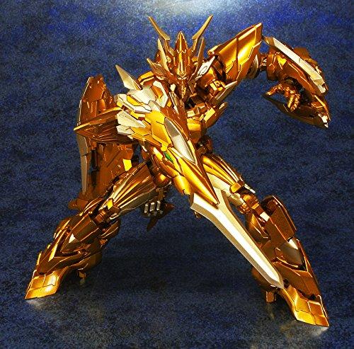 EX合金PLUS+ ライディーン ザ ブレイブ ゴッドバード ユニット ゴールドバージョン 全幅約350mm ABS&BVC製 塗装済み完成品