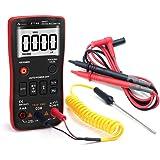 FASTTOBUY Digital Multimeter, TRMS 6000 Counts Multi Tester Counter Auto-Ranging, Measure Voltage Current Resistance Capacita