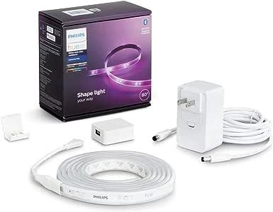 Philips Hueライトリボンプラス Bluetooth + ZigBee スマートLEDテープライト 映像・音楽シンクロ テレビバックライト フルカラー照明 間接照明 インテリア照明