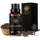 Aromatherapy Black Pepper Essential Oil for Diffuser, 30ml Therapeutic Grade Black Pepper Essential Oil Fragrance for Humidif