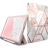 i-Blason Case for iPad 6th Generation, iPad 9.7 Case 2018/2017, [Built-in Screen Protector] Full-Body Trifold [Cosmo] Smart C