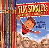 Flat Stanley's Worldwide Adventures #1-#10 Pack: Intrepid Canadian Expedition Amazing Mexican Secret African Safari Discovery Flying Chinese Wonders Australian Boomerang Bonanza US Capital Commotion Showdown at the Alamo + Three More Titles