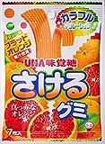 味覚糖 さけるグミ 真っ赤なオレンジ 7枚×10袋