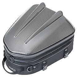 タナックス(TANAX) MOTOFIZZ バイクシートバック  シェルシートバックMT カーボン柄 [容量10-14ℓ] MFK-238CA