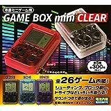 液晶ミニゲーム機 GAME BOX mini CLEAR 全5種セット ガチャガチャ
