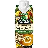 【セット商品】[2CS] カゴメ 野菜生活100 Smoothie(スムージー) かぼちゃのソイポタージュ(250g×12本)×2箱