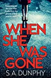 When She Was Gone (English Edition)