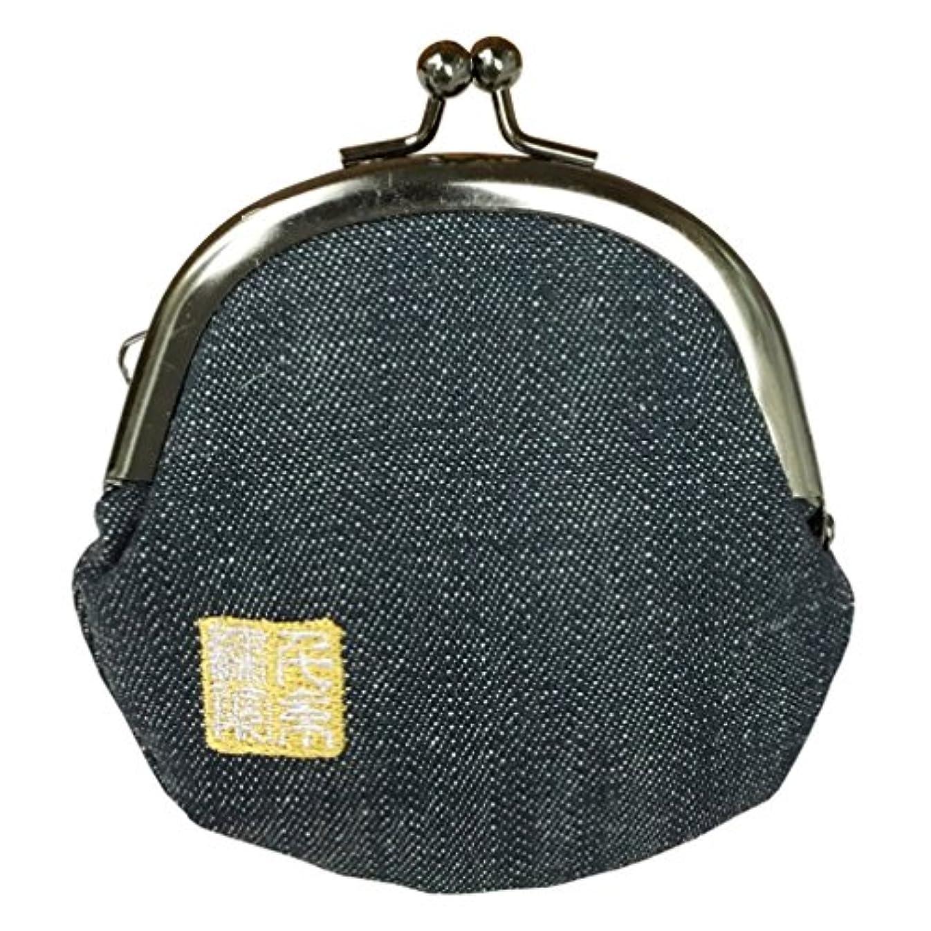 吐く常習的どう?千糸繍院 西陣織 金襴 がま口 2.5寸丸型財布/小銭入れ(裏地付き)