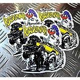 ロードランナー ステッカー 3枚セット Plymouth Road Runner プリムス アメリカ雑貨 アメリカン雑貨 - 1,080 円
