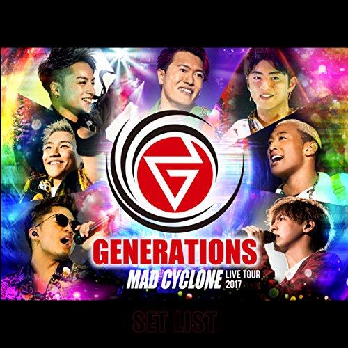 GENERATIONS LIVE TOUR 2017 MAD...