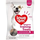 Love Em Kangaroo Liver Mini Training Treats, 200 Grams