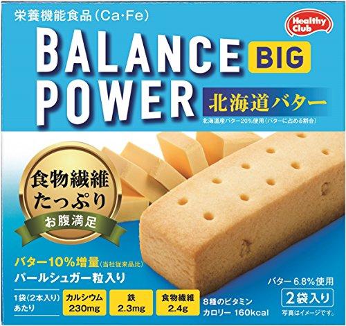 バランスパワービッグ 北海道バター 函入 2袋