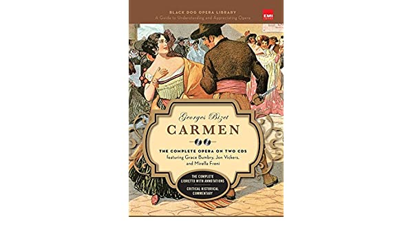 amazon carmen book and cd s the complete opera on two cds