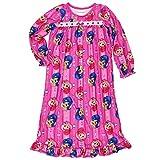 輝きとNickelodeon GirlsフランネルGrannyガウン寝巻きパジャマ( Toddler / Little Kid / Big Kid ) カラー: ピンク