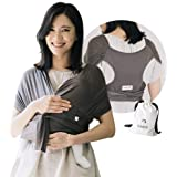 Konny Baby Carrier Summer | Ultra-Lightweight, Hassle-Free Baby Wrap Sling | Newborns, Infants to 44 lbs Toddlers | Cool and