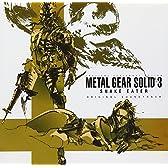 METAL GEAR SOLID3 SNAKE EATER ORIGINAL SOUNDTRACK