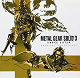 「METAL GEAR SOLID3 SNAKE EATER ORIGINAL SOUNDTRACK」の画像