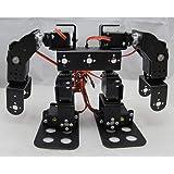 KESOTO 8-DOF ヒューマノイド ダンスロボット 二足歩行ロボット DIY組立 RCロボットキット