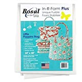 Bosal in-R-Form Plus Unique Fusible Foam Stabilizer 24 Inches by 58 Inches for Aunties Two Little Poppins Bag Pattern