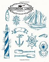 Sailor Notebook / Journal / Diary: Lined