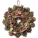 大橋新治商店 木の実のリース Natural Wreath リース 25cm 木の実ミックス 28-005