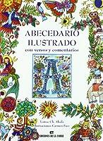 Abecedario ilustrado con versos y comentarios