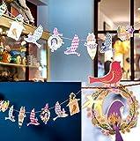 Happiest お祝い 飾り付け パーティ イベント ガーランド 誕生日 クリスマス  (Free Bird:2個セット)