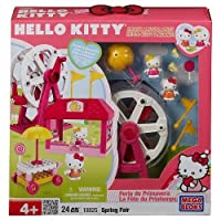 Hello Kitty Mega Bloks Set #10825 Spring Fair [並行輸入品]