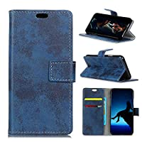 Sony Xperia XZ2 Compact Card Holder Case, Sony Xperia XZ2 Compact Wallet Case Slim, Sony Xperia XZ2 Compact Folio Leather case cover Shockproof Case with Credit Card Slot, Durable Protective Case for