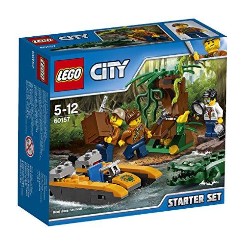 レゴ(LEGO)シティ ジャングル探検スタートセット 60157